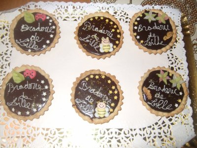 tartellette maison  au fruit chocolat ;chocolat au lait; tarte noix coco facon congolais