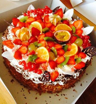 gateau au fruits