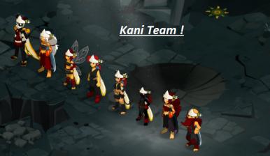 Avancement de la team !