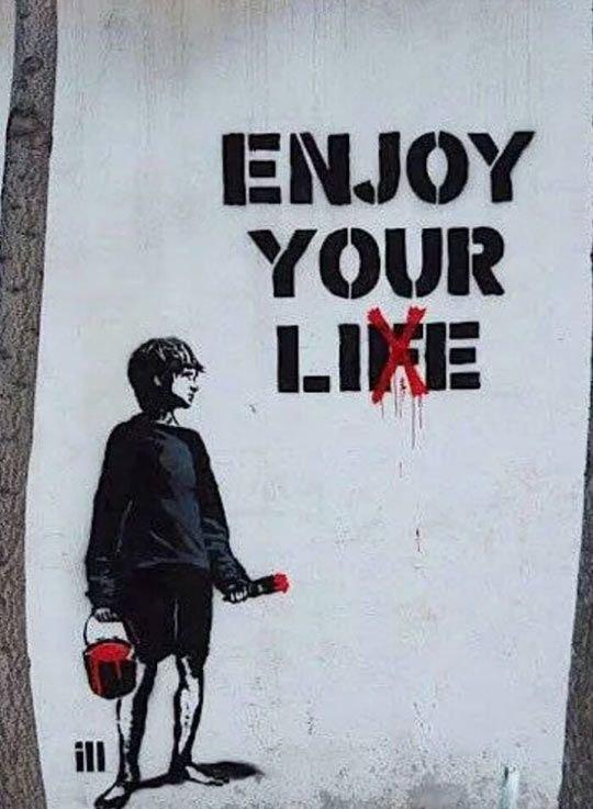 enjoy ur lie