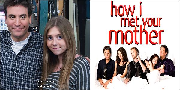 **  Mayda accompagnée de tout les acteurs de la série « How I Met Your Mother ».  **