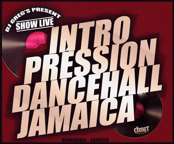 ★ DJ GREG'S PRESSION DANCEHALL Part.I ★INTROMIXLIVE#
