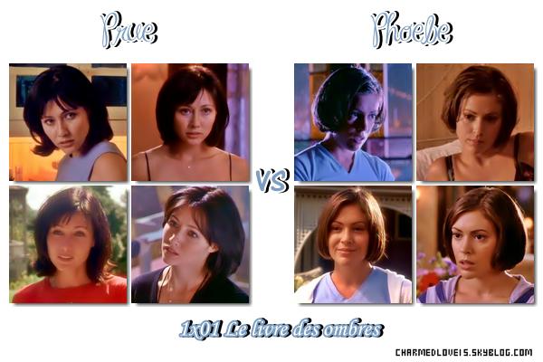 Prue vs Phoebe