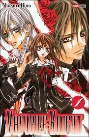 Vampire Knight - Les tomes 1 à 8