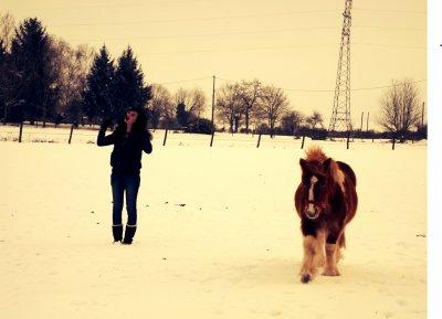 La  Soeur & L'poney <3