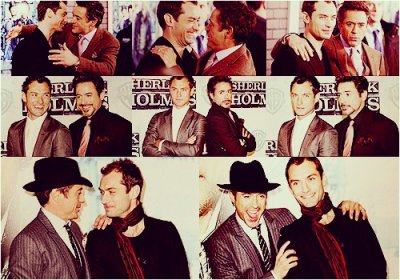 Robert Downey Jr - Jude Law