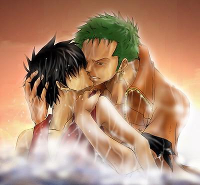 * Zoro et Luffy*