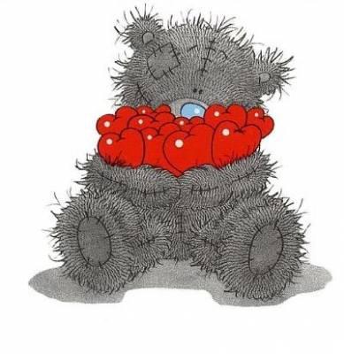 petit ours amoureux - Petit Nounours