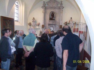 Exposition d'artistes à la chapelle St Julien