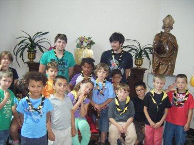 Scouts à Houmart