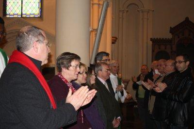 Messe d'envoi de l'EAP du 29 janvier 2012