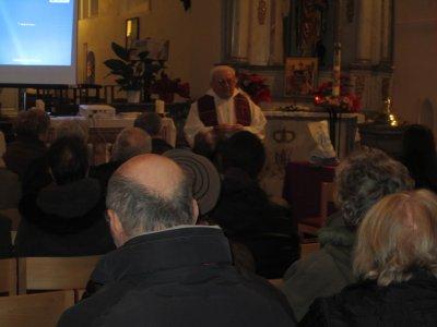 Mercredi des Cendres 2012 à St Vaast