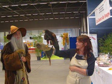 Coeurs en cordée et la Coeur de loups à Vitaville au Louv'expo