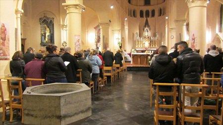 Messe de minuit 2012 à Boussoit