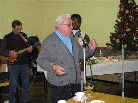 Goûter de Noël à Boussoit le 16/12/2012