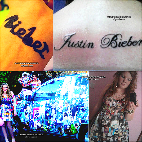 .  Quand la BieberFever devient trop envahissante ...  .