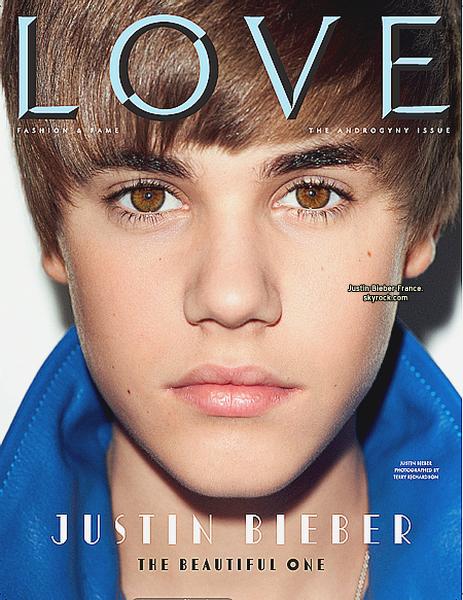.  Cover du LOVE MAGAZINE n°5 - En vente dés le 7 février.  .
