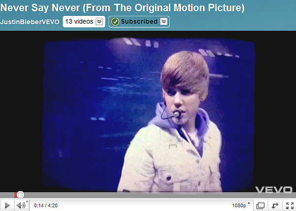.   Never Say Never - The Remix.  .