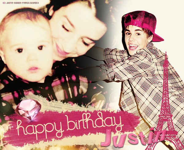 .   HAPPY BIRTHDAY JUSTIN DREW BIEBER !  .