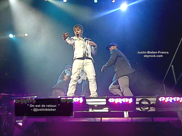 .   My World Tour.  .