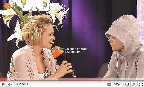 .    19.03 - Justin se rend dans l'émission allemande Wetten Dass. .