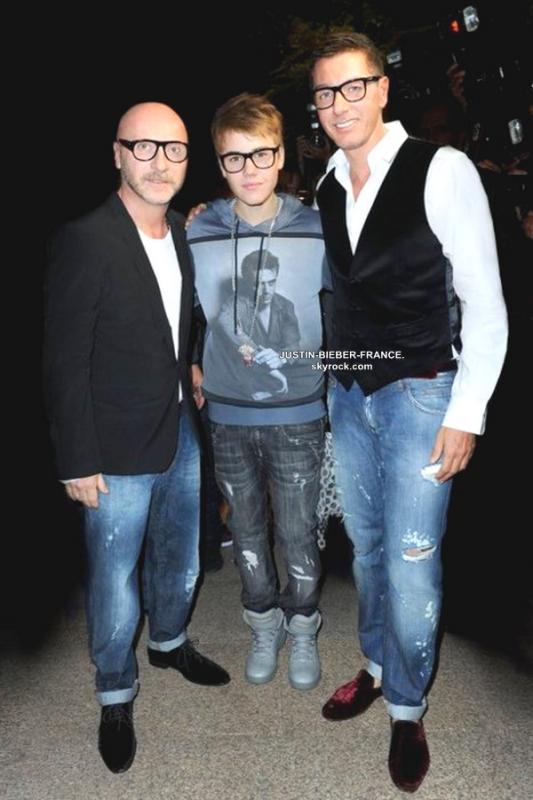 .   Ryan Butler, Alfredo Flores et Justin Bieber.  .