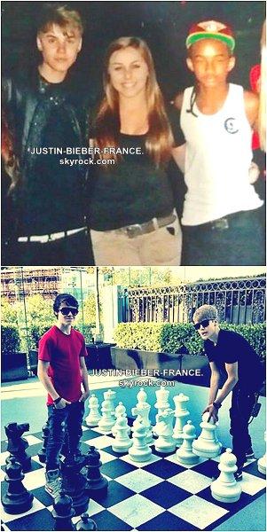 .  15.07 - Justin passe la journée à Los Angeles avec son père, Jaden et les Beadles  .
