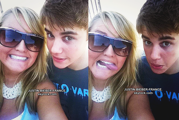 .  09.08 Justin à Los Angeles. .