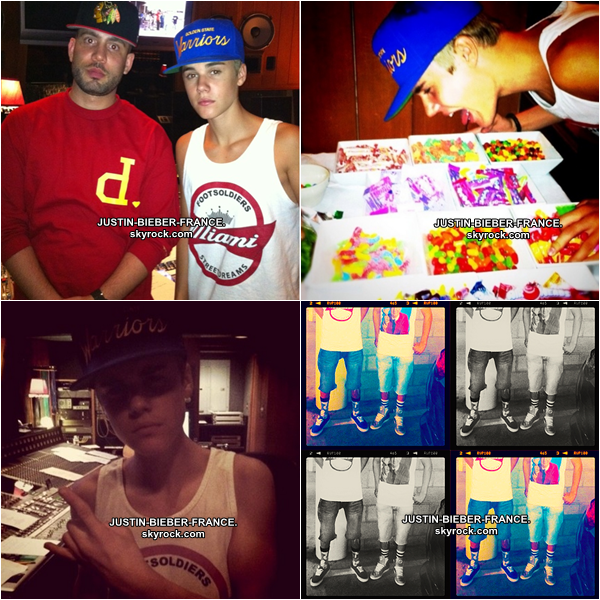.  30.08 - Justin à Los Angeles. .