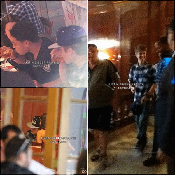 .  04.10 - Justin débarque au Brésil. .