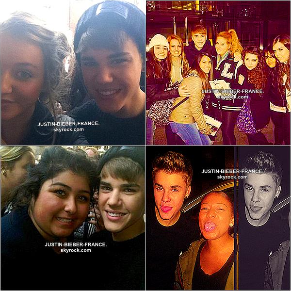 .  12/13/14.11 - Justin à Londres. .
