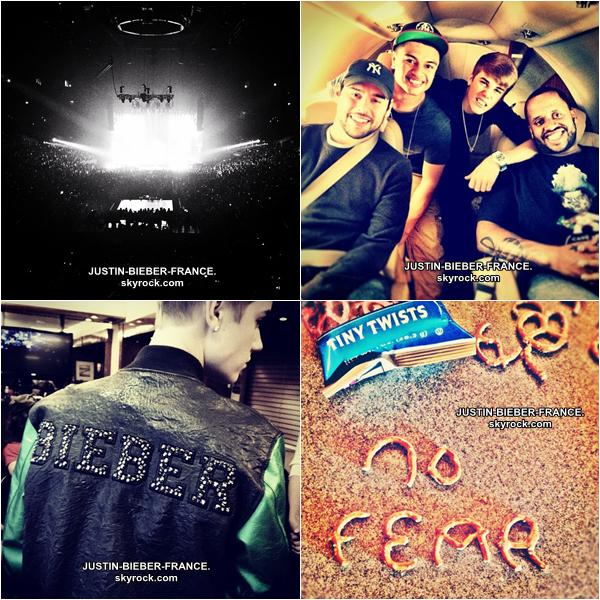 .  16.12 Justin se rend à KYDZ Radio et Candids à Las Vegas + Cali Christmas. .