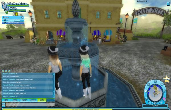 Petite visite sur la fontaine de fort
