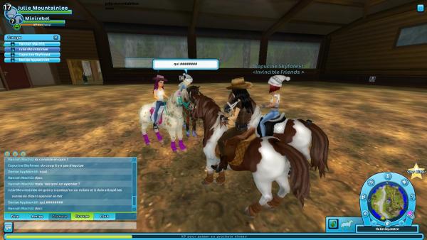 pony games avec les invincibles (donc il y a longtemp)