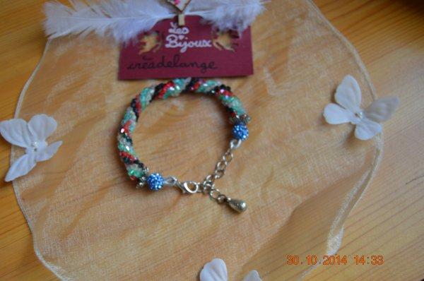 bracelet spirale de toupie