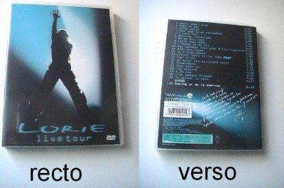 dvd live tour 2003