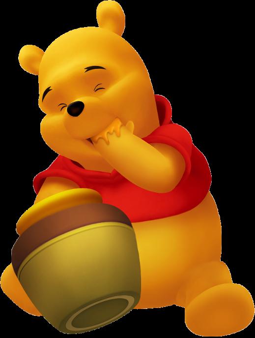 Winnie l'Ourson, interdit en Pologne parce qu'il ne porte qu'un tee shirt rouge, et qu'il n'a pas de sexe
