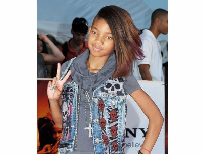 Willow Smith à Justin Bieber.