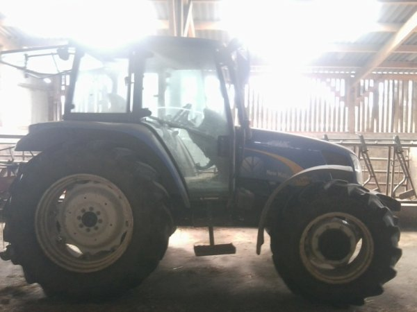 New holland TL100a de mon voisin