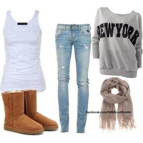 Tenue simple mais swag !!