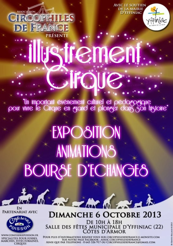 ILLUSTREMENT CIRQUE  !!!!!