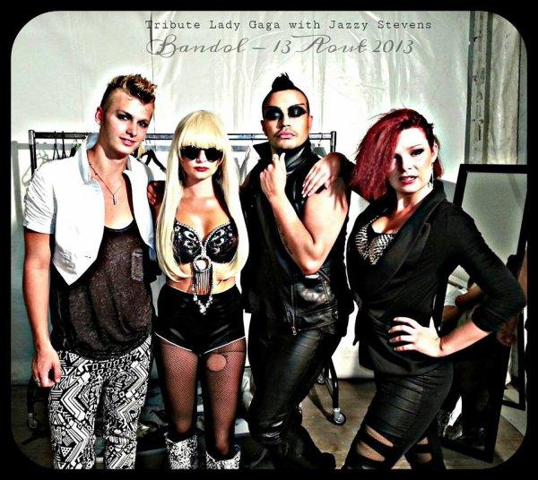 Show Lady Gaga ... # Alias Jazzy Stevens