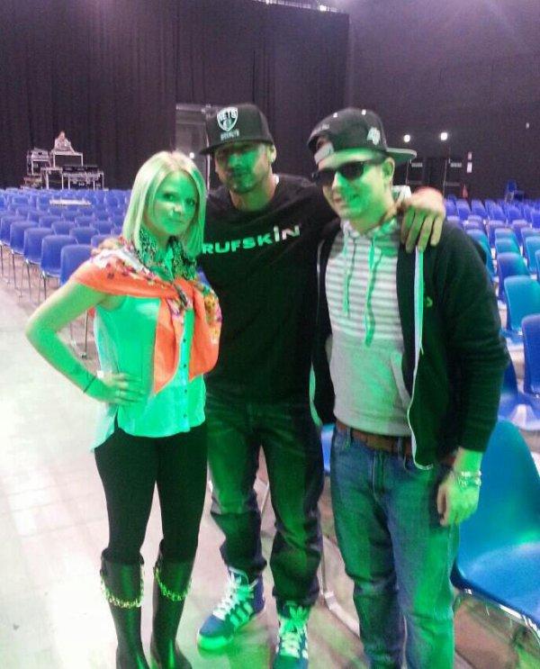 Jazzy et Shayne Stevens Avec Quentin Elias !