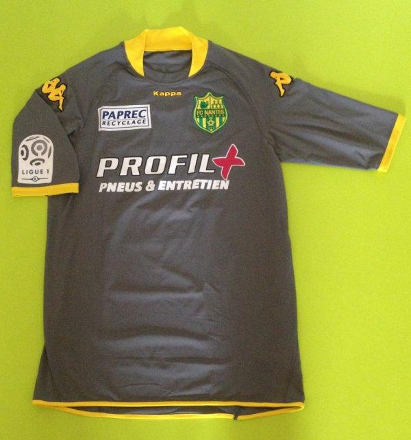 Maillot porté par David De Freitas saison 2008/2009
