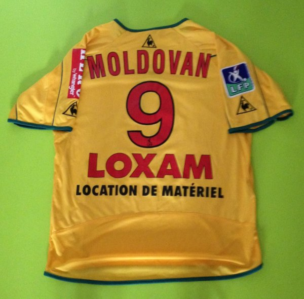 Maillot porté par Viorel Moldovan saison 2002/2003