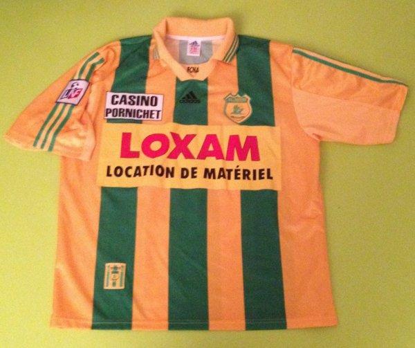 Maillot porté par Nicolas Savinaud saison 1998/1999