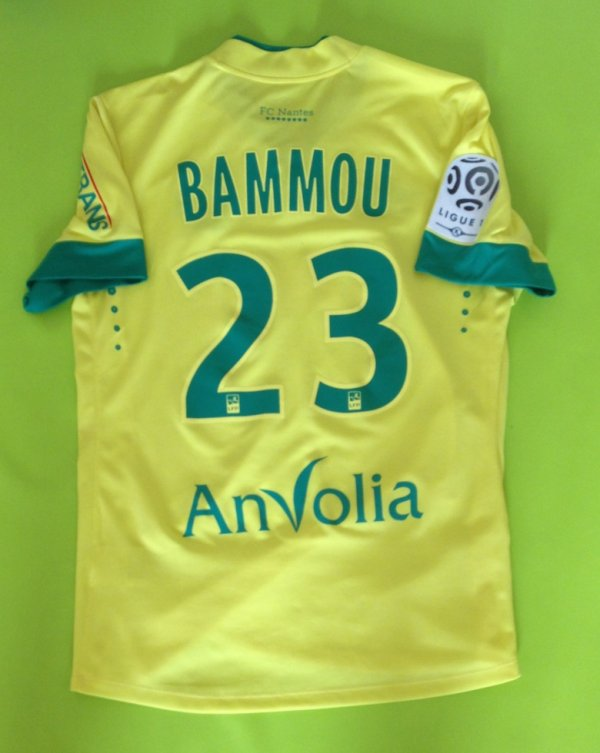 Maillot porté par Yacine Bammou saison 2014/2015