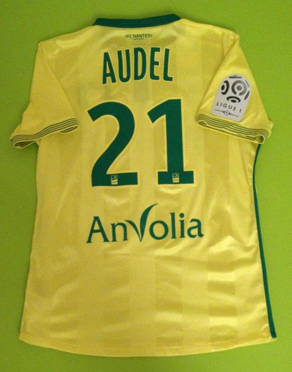 Maillot porté par Johan Audel Saison 2015/2016