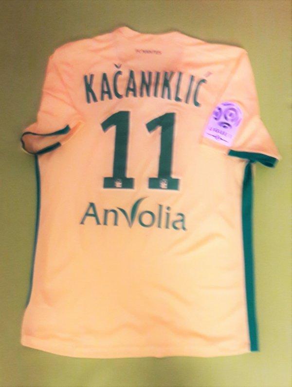 Maillot porté par Alexander Kacaniklic Saison 2016/2017