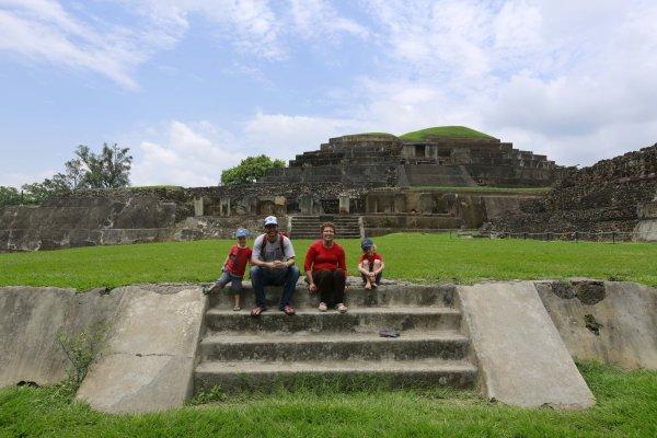 Mamidou et le Salvador en passant par le Honduras!